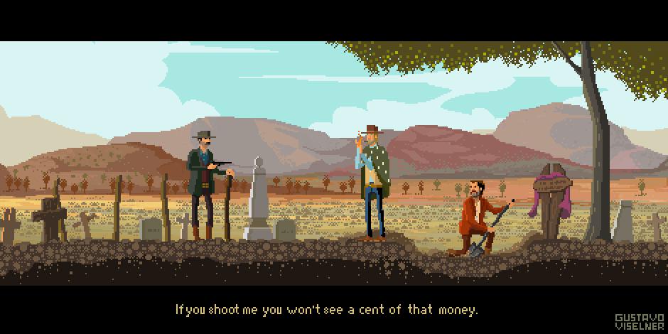 EL Bueno, el feo y el malo - Pixel Art