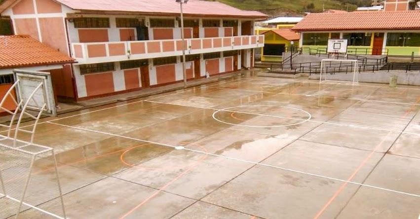 PRONIED: Mejoramiento de infraestructura de Colegio Nacional de Poque ya es una realidad en la Región Huánuco - www.pronied.gob.pe