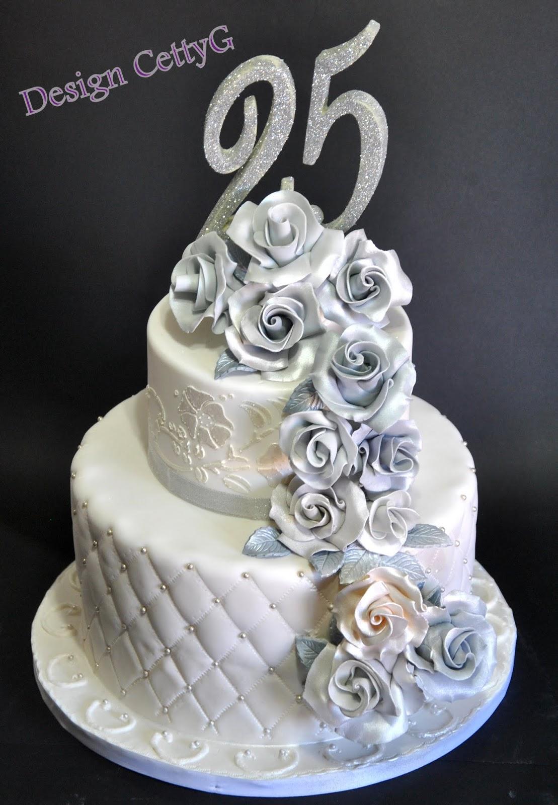 Estremamente Le torte decorate di Cetty G: 25° Anniversario WT56