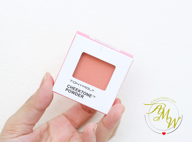 a photo of Tony Moly Cheektone Powder in P05 review.