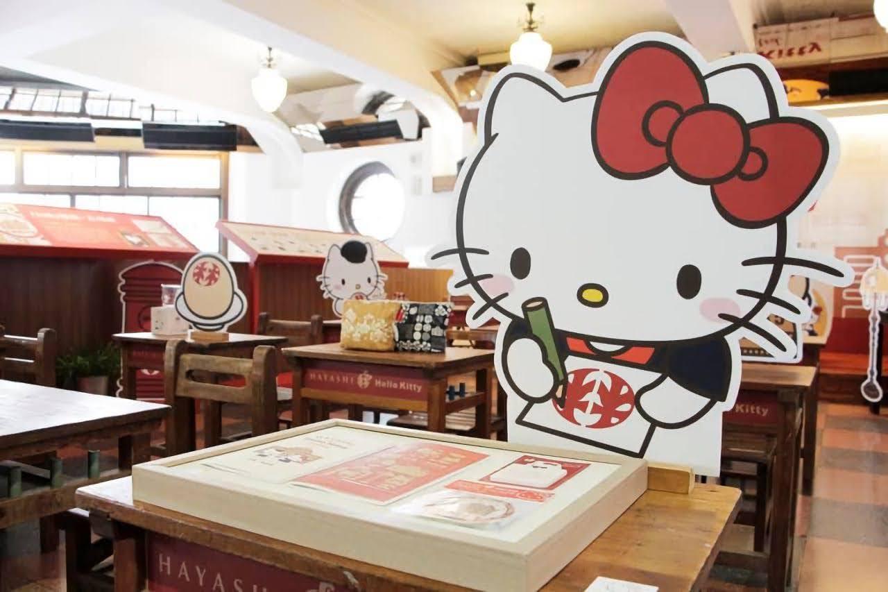 Hello Kitty粉看過來!林百貨跨界品牌合作 「漫步林時光」34種台南特色商品在林百貨登場