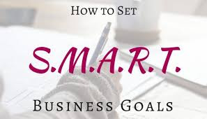 how to creat business goals