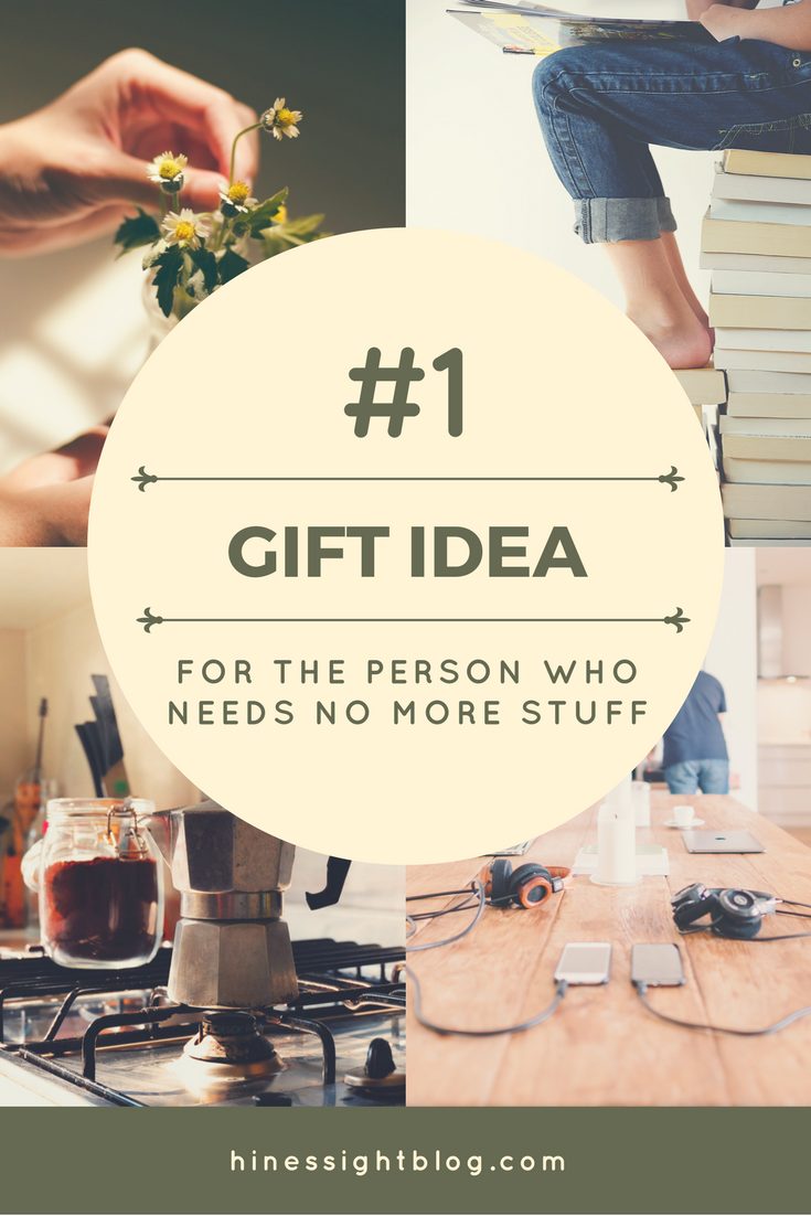 Holiday Gift Guide For The Person Who Needs No More Stuff