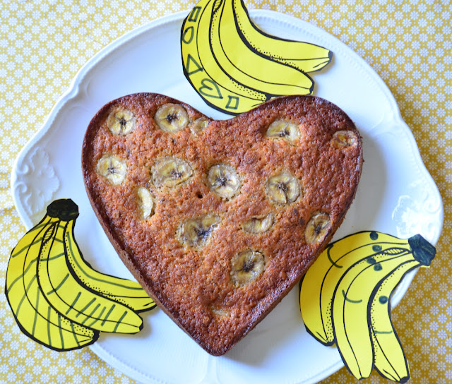Gâteau bananes chocolat