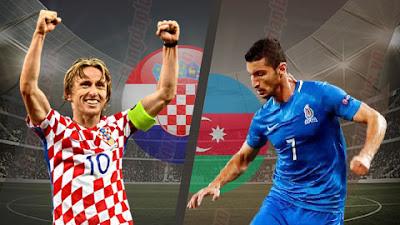 مشاهدة مباراة كرواتيا وإذربيجان