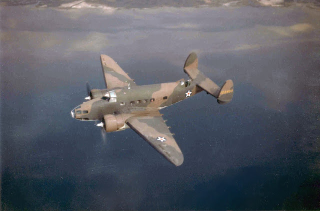 US Army Air Force Lockheed A-29 Hudson 29 June 1941 worldwartwo.filminspector.com