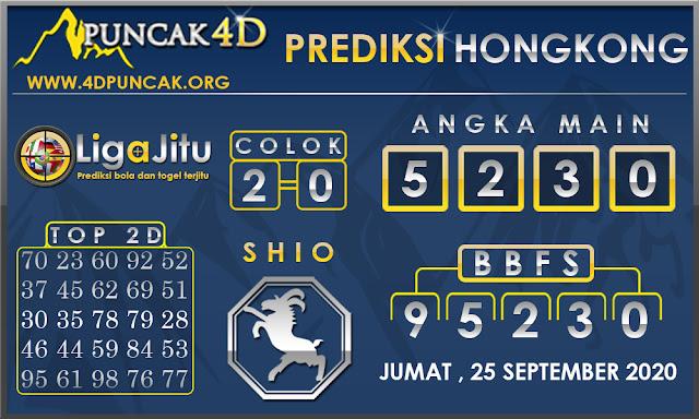 PREDIKSI TOGEL HONGKONG PUNCAK4D 25 SEPTEMBER 2020