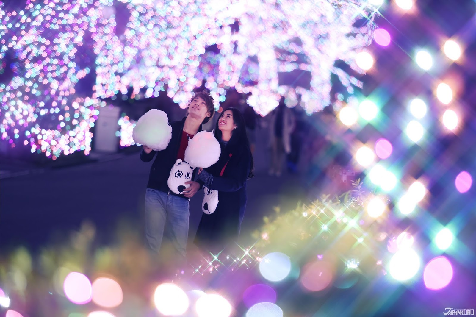 Image result for Yomiuri Land Jewellumination