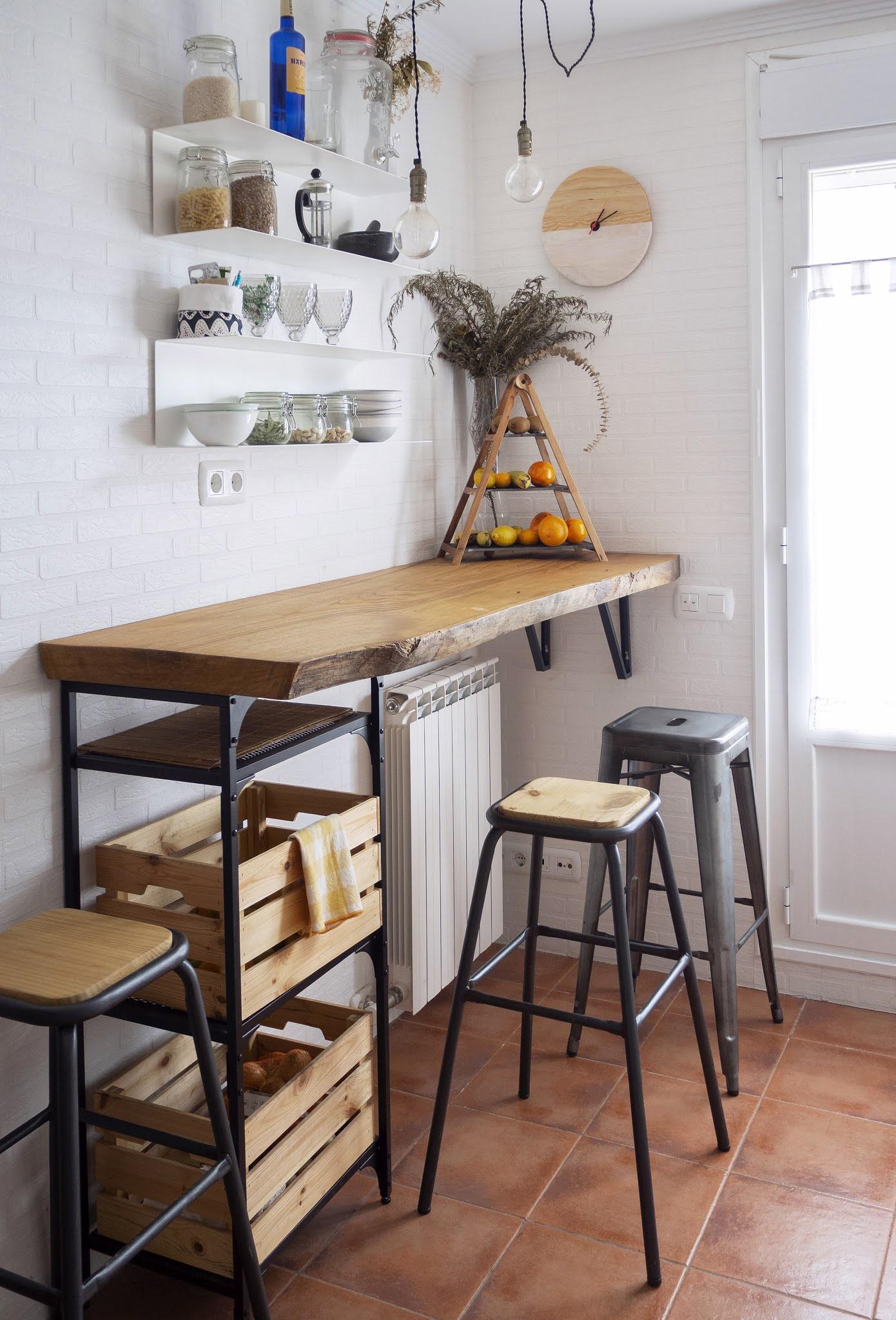 DIY Reloj de madera para nuestra cocina_Decorar en familia5