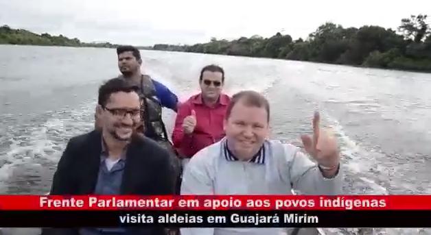 Vídeo: Frente Parlamentar permanente dos povos indígenas visita aldeias em Guajará-Mirim
