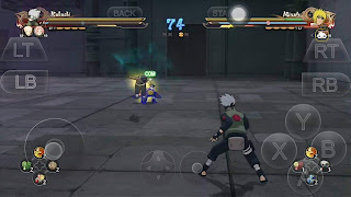 Cara Main Game Naruto Ultimate Ninja Strom 4 di Android
