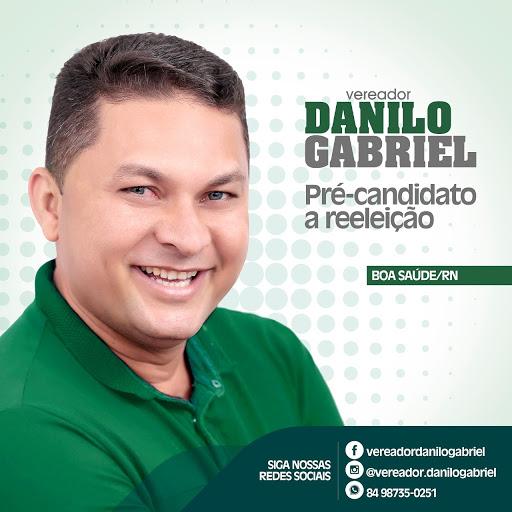 Danilo Gabriel anuncia pré-candidatura