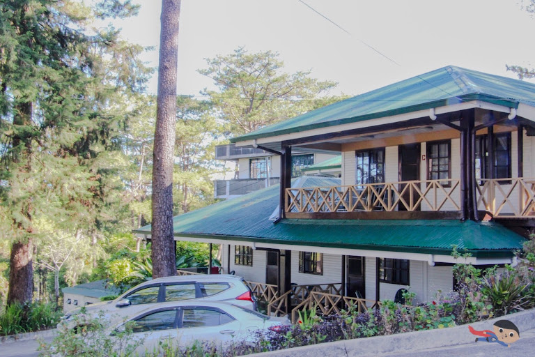 Cabin-like homes of Baguio City