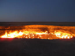 Top 10 Awesome Hidden Destinations Must to explore once in a Life, Door to Hell, Turkmenistan