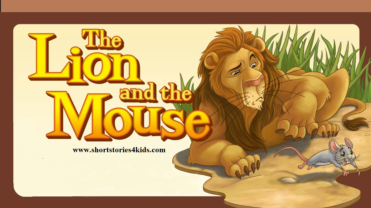The Lion and The Mouse ~ English Short Story for Kids - Short Stories for  Kids