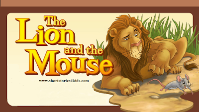 The Lion and The Mouse Story with picture and pdf