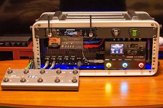 HX Stomp を主体としたラックシステム