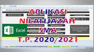 Aplikasi Nilai Ijazah SMA 2021