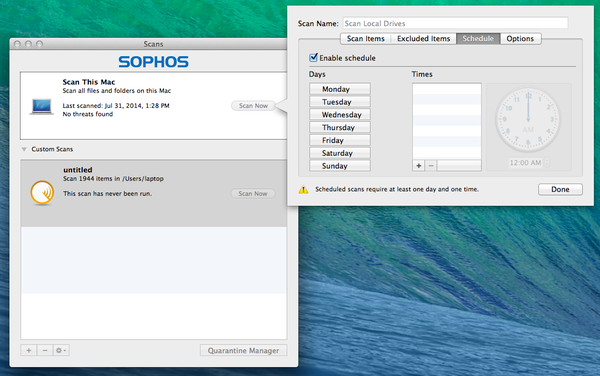 Best PC and MAC Security software: Sophos : Antivirus for MAC