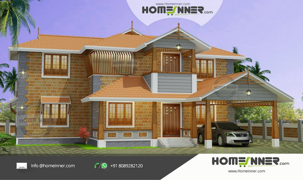 Traditional Kerala Illam Design in 3479 sq ft Luxury Home Design