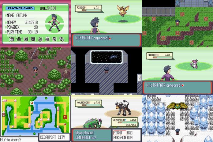 Pokemon Giratina Strikes Back Rom Screenshots