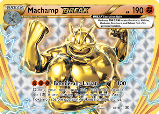 Machamp BREAK XY Evolutions Pokemon Card