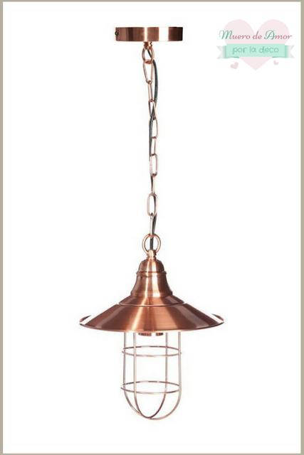 Decoracion en color cobre-Lamparas-4