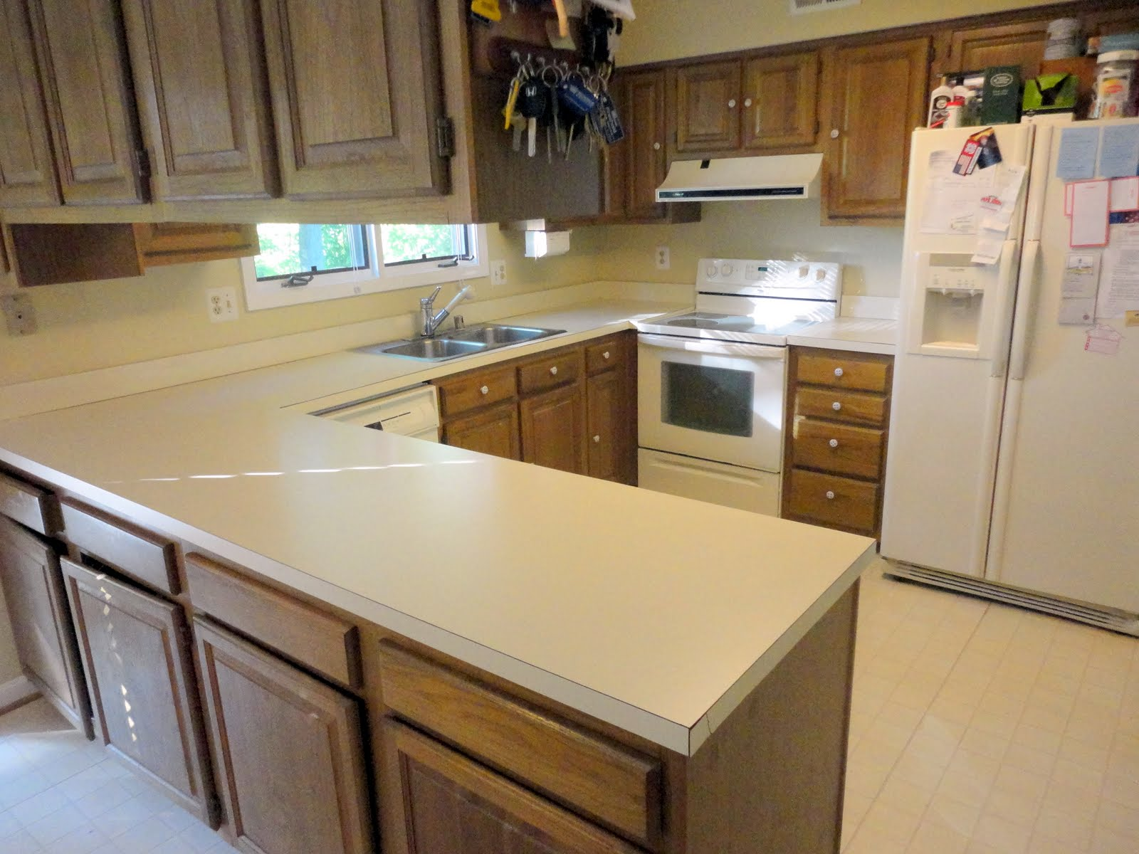 corian kitchen countertops blanco sinks old colors home improvement