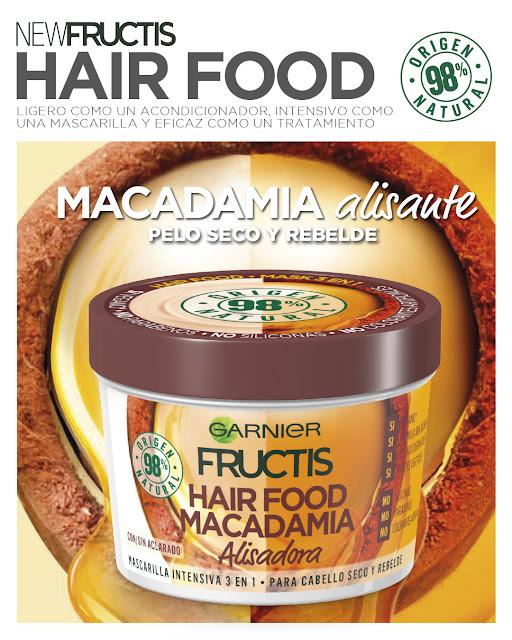 Fructis Hair Food Macadamia alisadora