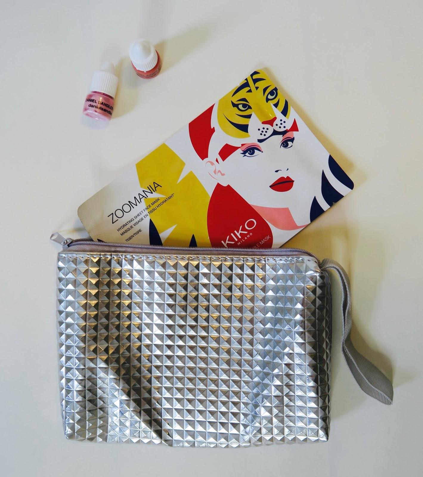 Pyramid pouch christmas gift bag