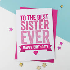 wishes- happy birthday sister