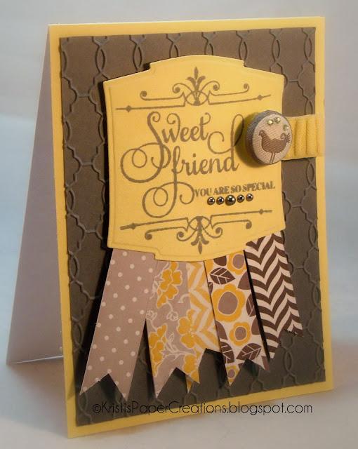 Craft Card Folder
