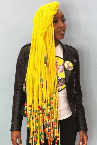 lemonade crochet braids styles are here to create a huge trendy comeback from the late ni ✘ 36 Gorgeous Crochet Lemonade Braids Hairstyles Ponytails To Wear