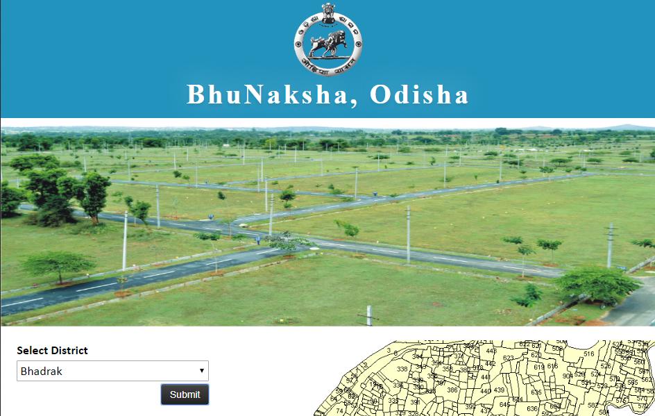 Bhu Naksha Odisha