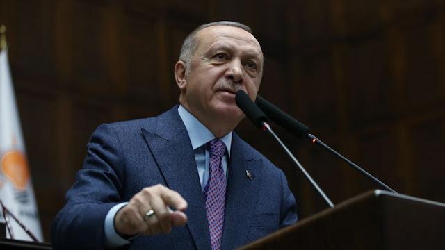 """Ερντογάν σε ΕΕ: """"Εάν εμείς χάσουμε μία, εσείς θα χάσετε 10"""""""