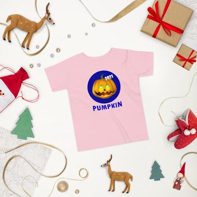 Personalized Engraving Glitter Pumpkin T-shirt / Glitter Force Kids Custom / Halloween And Thanksgiving Children's / Pumpkin Crown Shirt