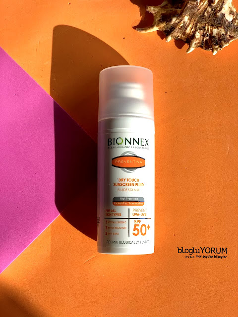 Bionnex Preventiva Dry Touch SPF 50 Yüz ve Boyun İçin Güneş Kremi incelemesi