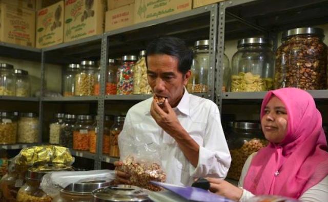 Begini Cara Unik Jokowi Promosikan Wisata Belanja dan Kuliner