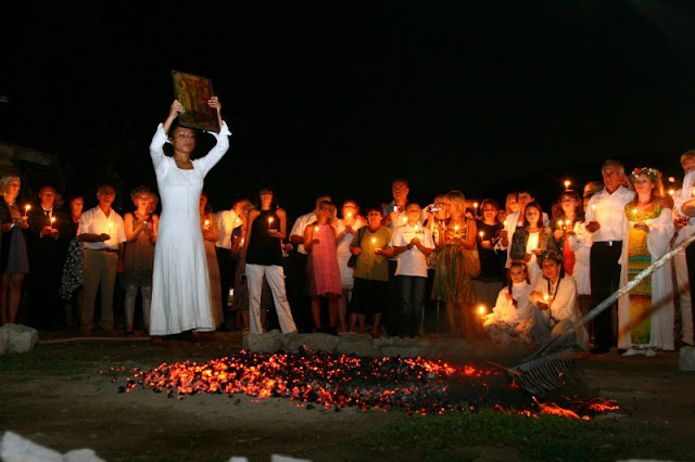nestinarka, nestinarstvo, bailar sobre brasas, Bulgaria