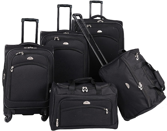 American Tourister 5-Piece Softside Travel Set
