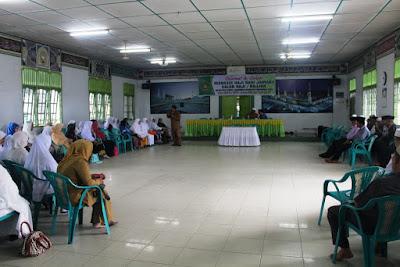 Kemanag Tanjungbalai Adakan Pembinaan Manasik Haji Bagi Jamaah Calon Haji / Hajjah
