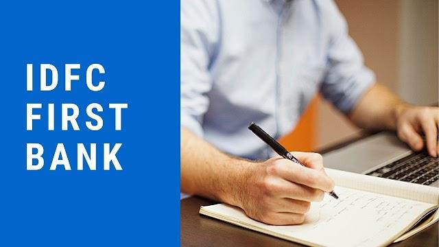 Fundamental Analysis of IDFC First Bank