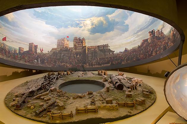 Museum Panorama 1453 di Istanbul Turki Nurul Sufitri Travel Lifestyle Blog