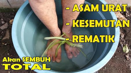Mengobati asam urat dengan air sereh dan garam