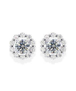 Mẫu hoa tai kim cương đẹp tinh tế cho các nàng công sở