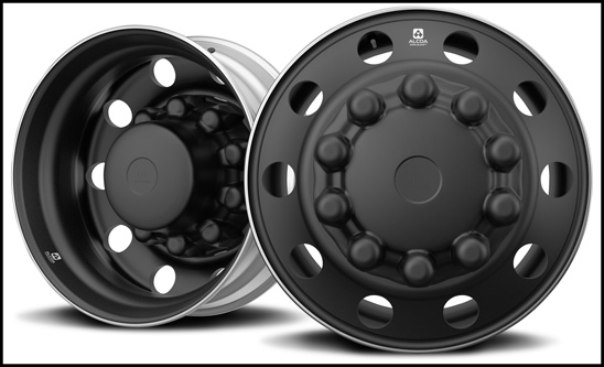 Alcoa Dura-Black Aluminum Wheels