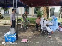 TNI Ikut Donor Darah Sukarela Guna Bantu Ketersediaan Darah di PMI