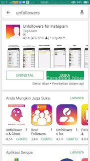 aplikasi untuk melihat unfollow di instagram