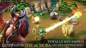 Free Download Game terbaru Heroes of Order & Chaos MOD Review APK+DATA 3.1.2b