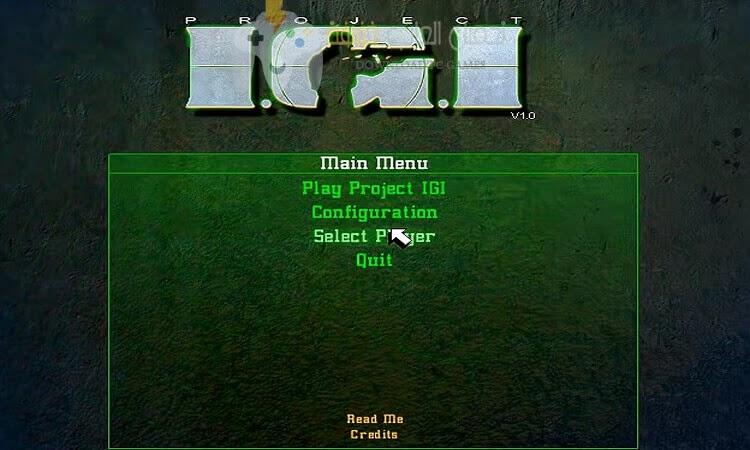 تحميل لعبة IGI للكمبيوتر جميع الاصدارات من ميديا فاير